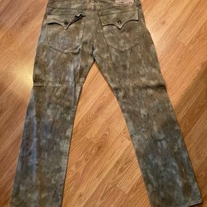 Men's True religion jeans camo !